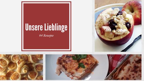 Unsere Lieblinge - rezepte - ideas4parents