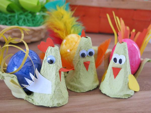 Gut bekannt DIY: Wir basteln ein Osterhuhn aus Eierkarton - ideas4parents KQ88