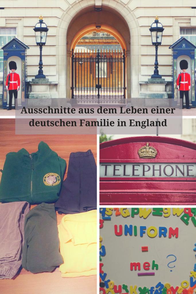 Ausschnitte aus dem Leben einer deutschen Familie in England