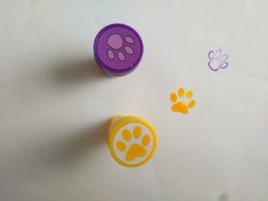 Kindergeburtstag Katzenstempel