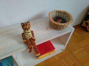 Kindergeburtstag: Holztiger