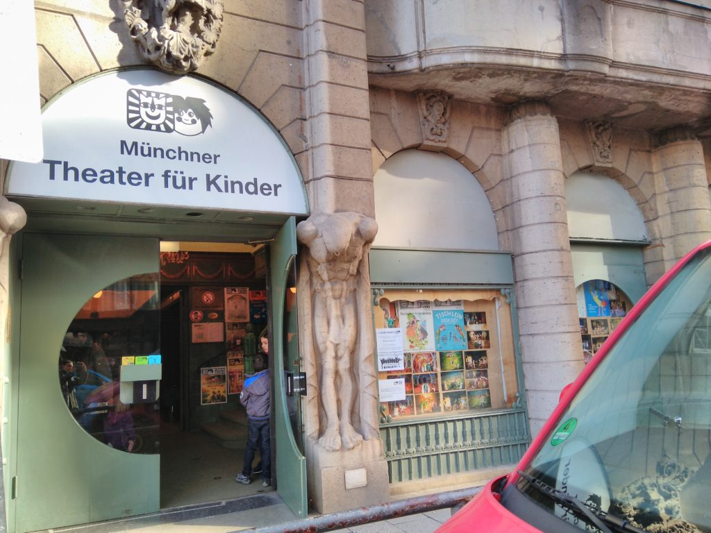 Vorhang auf im Münchner Theater für Kinder
