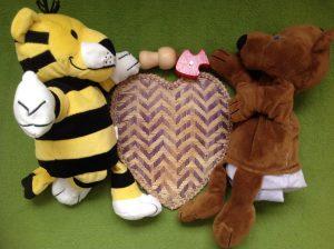 Foto: Kleiner Bär und kleiner Tiger
