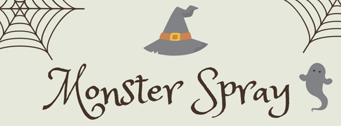 Keine Angst vor Monstern – Halloween Monster-Spray für starke Kinder! (+Freebie)