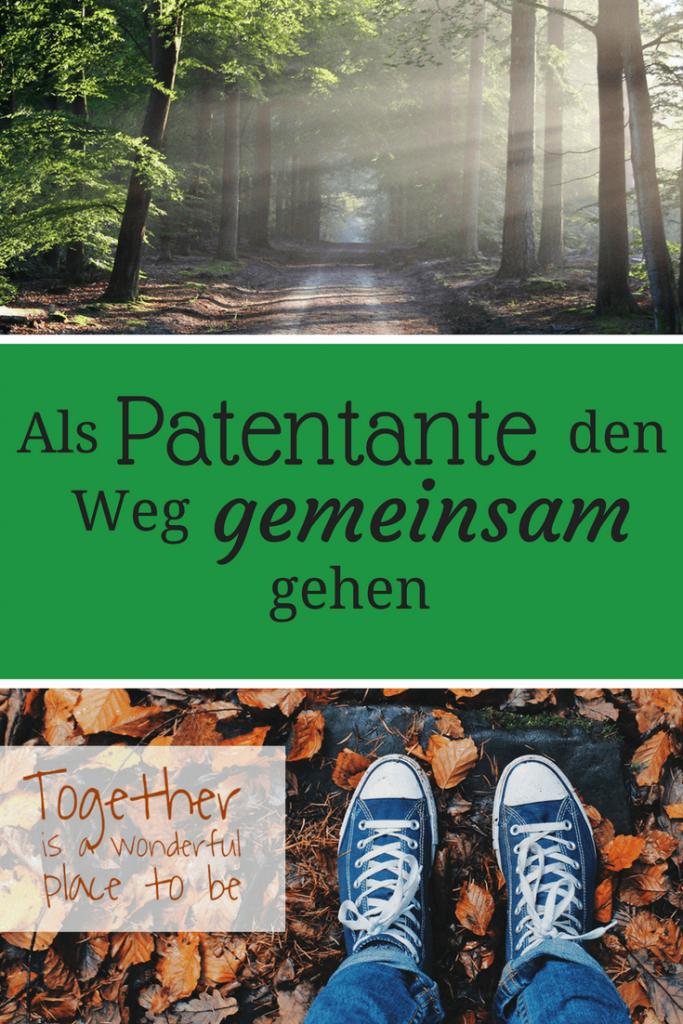 Als Patentante den Weg gemeinsam gehen