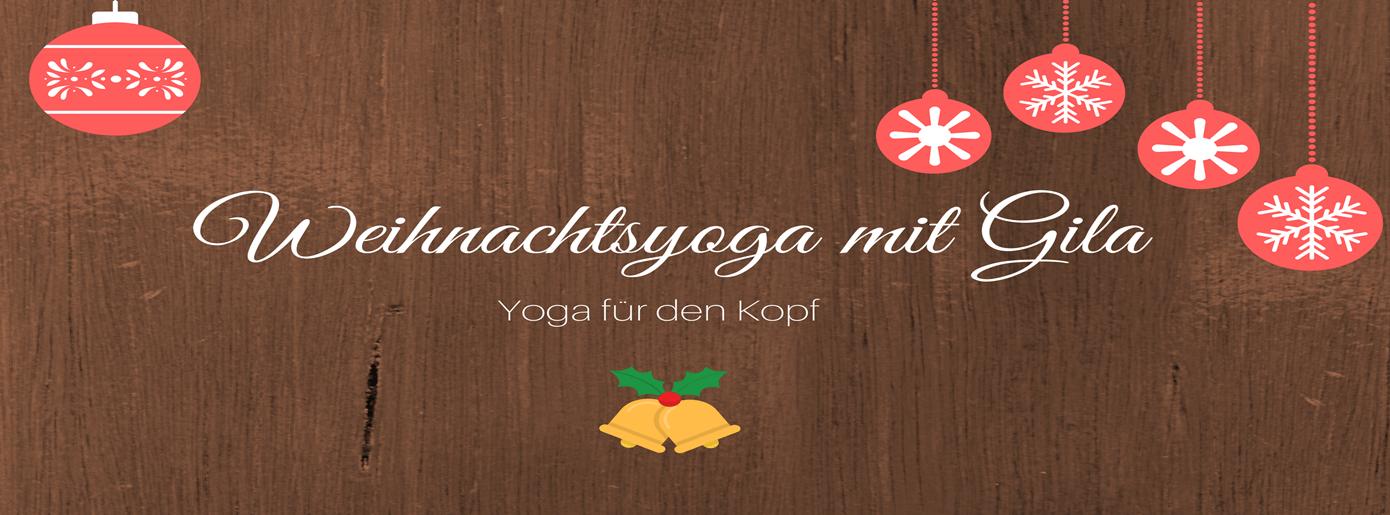 Weihnachtsyoga für den Kopf: Wie man mit Yoga einen starken Übergang ins neue Jahr schafft