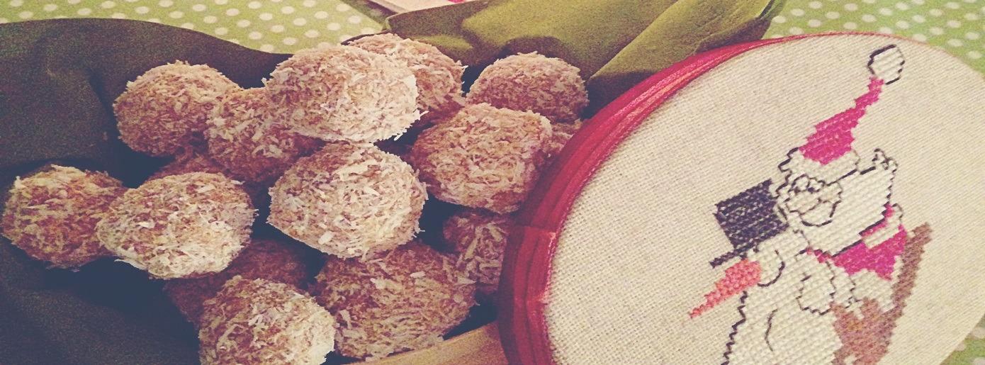 Weihnachtsgewürz Vanille: Leckere Schneebälle