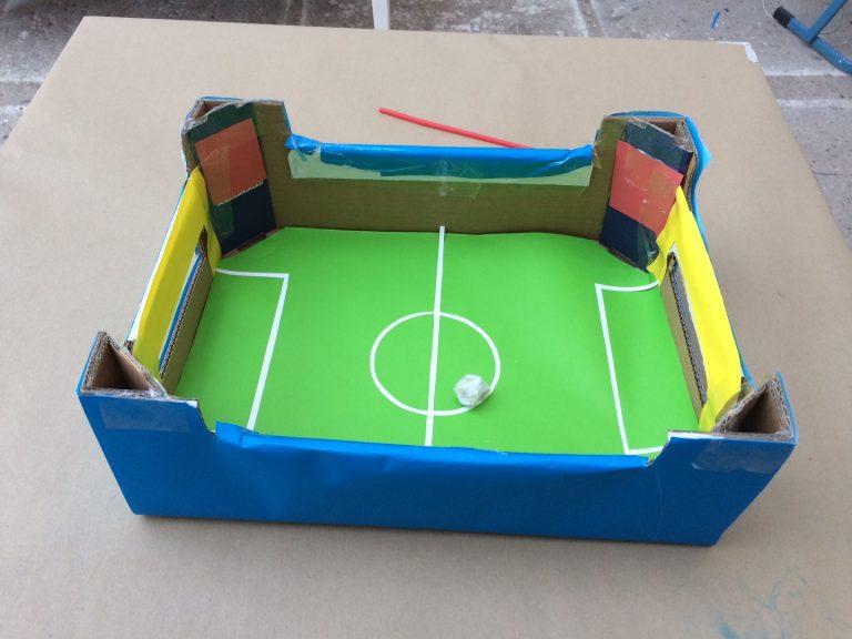 DIY Fußballkicker – ideas4parents